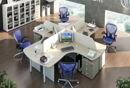 """Комплект мебели для офиса """"Сиеста"""""""
