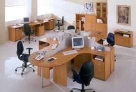 """Комплект офисной мебели """"Аврора"""""""
