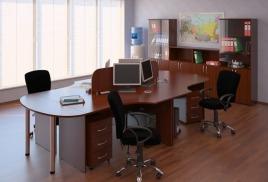"""Комплект офисной мебели """"Браун"""""""
